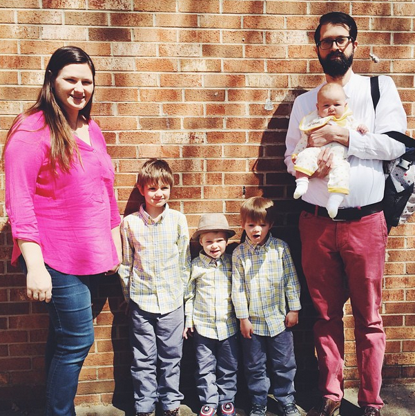 Lieb Family Easter 2015