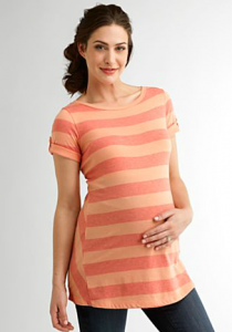 Maternity Striped Tunic