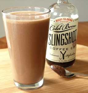 slingshot coffee and nutella smoothie