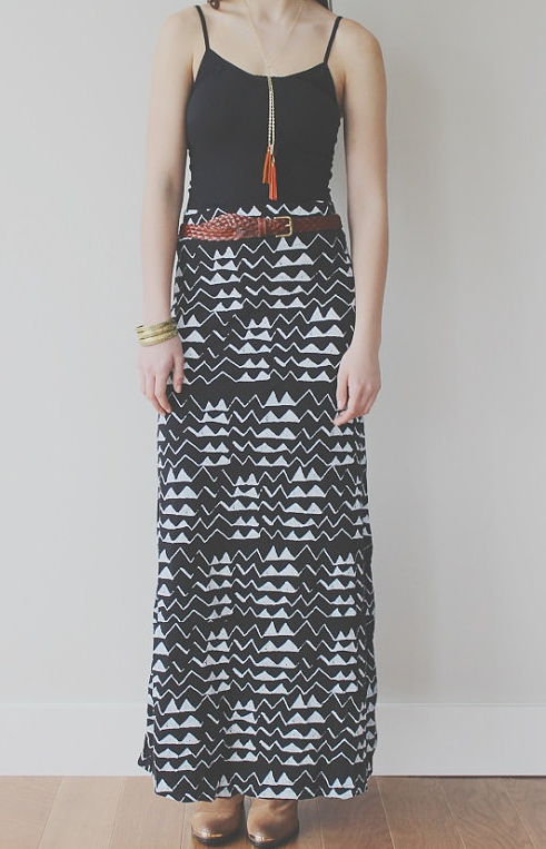 thief & bandit maxi skirt