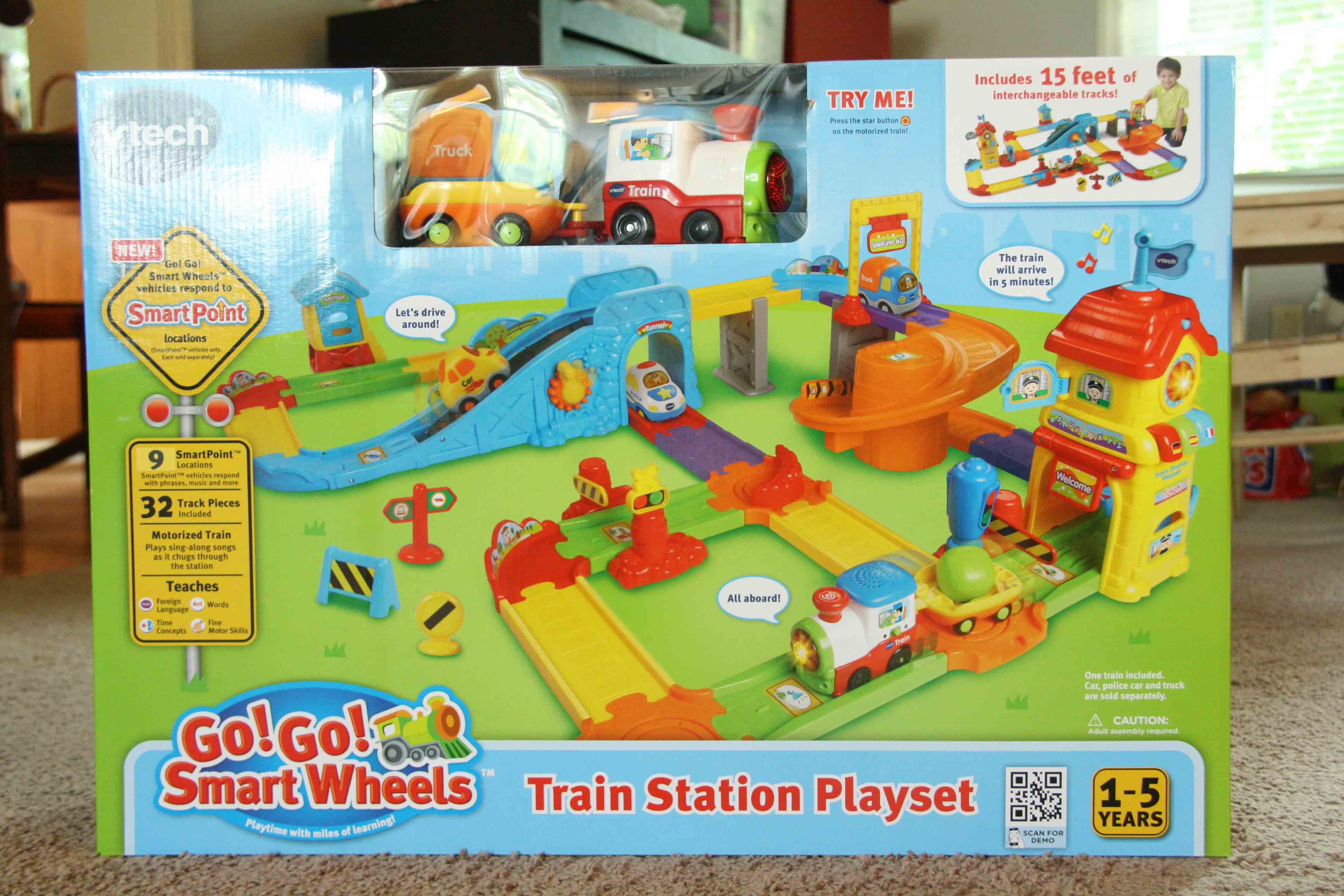 Vtech Go Go Train Station