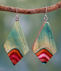 Novica Wood Earrings