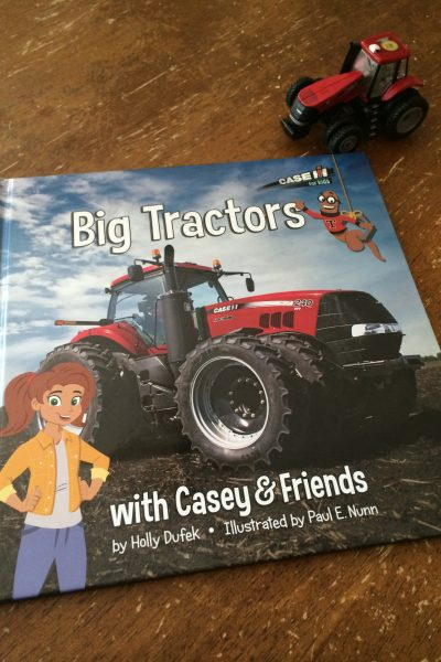Big Tractors with Casey & Friends – Book Review