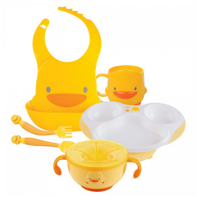 piyo piyo feeding set