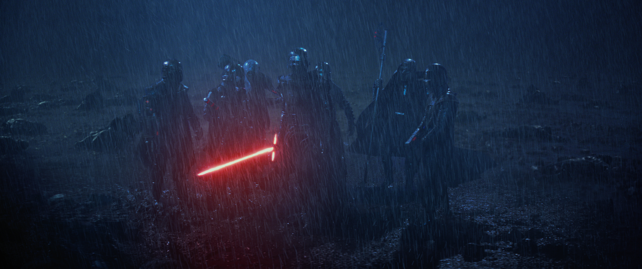 Star Wars: The Force Awakens..Kylo Ren (Adam Driver) ..Ph: Film Frame..? 2014 Lucasfilm Ltd. & TM. All Right Reserved..