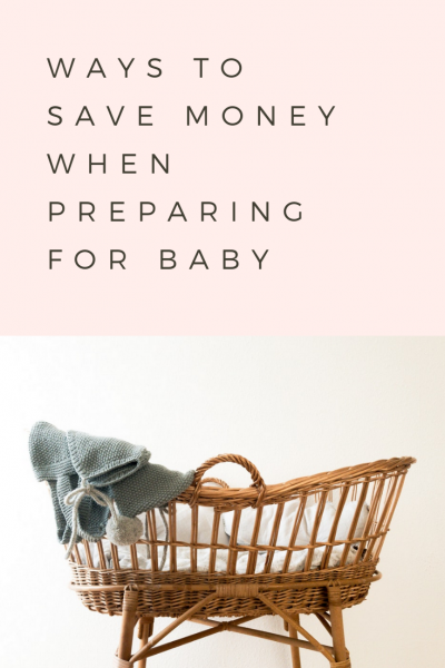 Ways to Save When Preparing for Baby