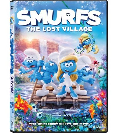 Smurfs – The Lost Village DVD Review