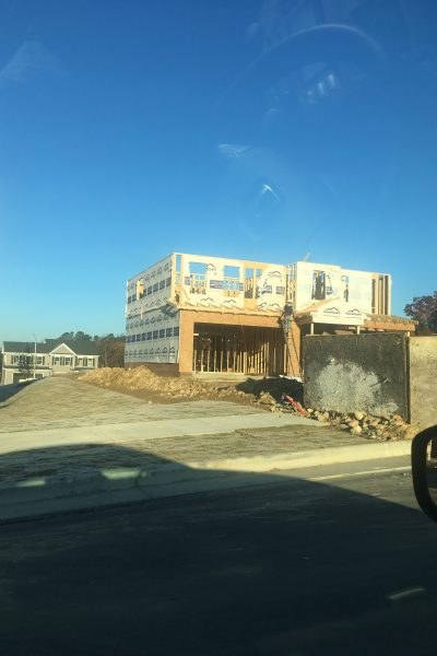 Time for Framing – New House Update