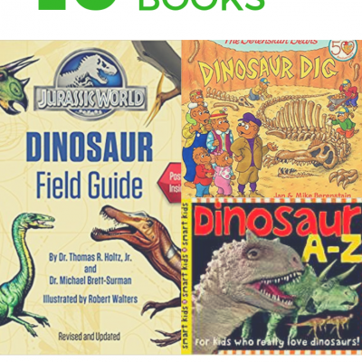 10 Amazing Books About Dinosaurs