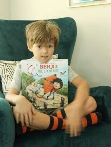 Benji and the Giant Kite – Book Review