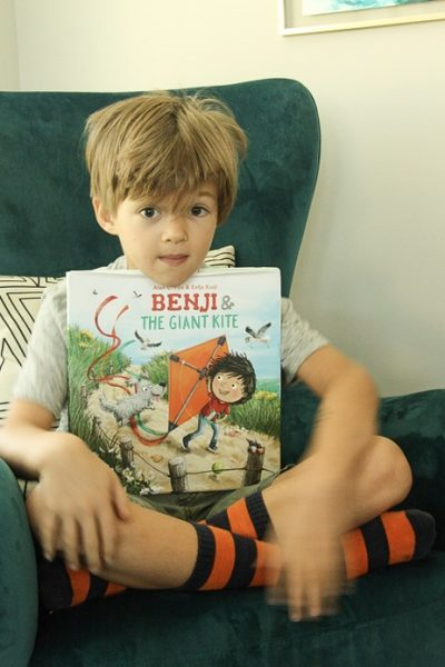 Benji and the Giant Kite – Book Review+Giveaway