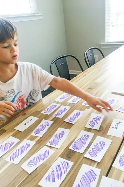 Printable Sight Words List + Activity Ideas