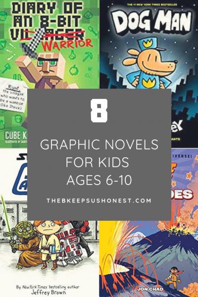8 Graphic Novels for Kids Age 6-10
