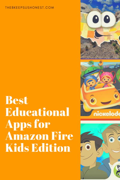 Best Educational Apps for Amazon Fire Kids